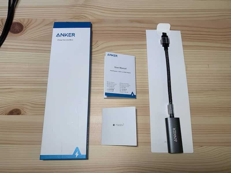 USB-C&HDMI変換アダプターの商品画像