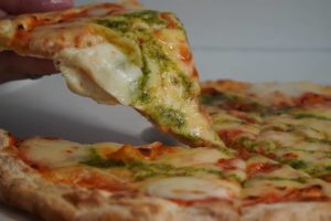 ガストのピザ