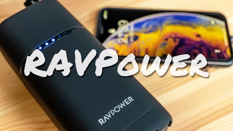 【RAVPower RP-PB054proレビュー】PD・AC出力・急速充電OK! キャンプに持っていくといいかも?