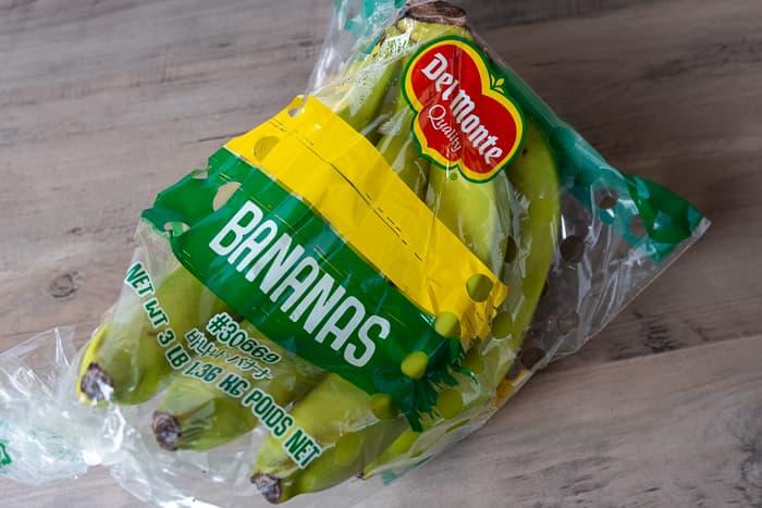コストコで売られているバナナ